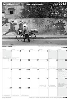 Calendario 2018 a impatto zero e Ciclocalendario